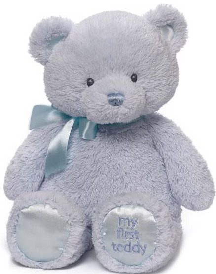 Gund: My First Teddy 38cm - Blue