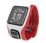 TomTom Runner Cardio Watch - White/Red + Additional Black Strap