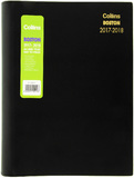 Collins A4 Boston Mid Year Diary 2017-2018 - Day to Page