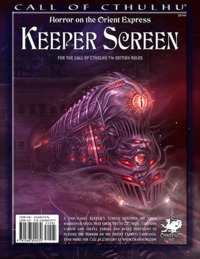 Call of Cthulu: Horror on the Orient Express - Keeper Screen