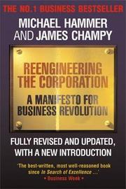 Reengineering the Corporation by Michael Hammer image