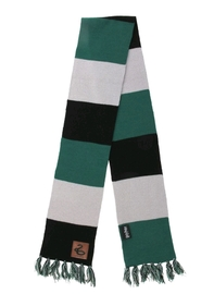 Harry Potter - Slytherin Patch Striped Scarf