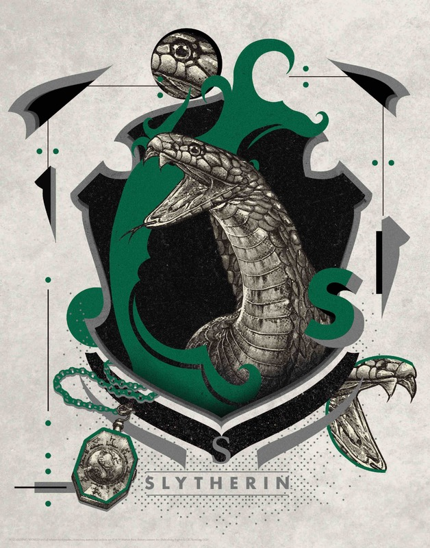 Harry Potter: Premium Art Print - Slytherin