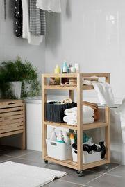 3-Tier Storage Organizer Trolley Shelves