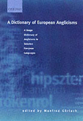 A Dictionary of European Anglicisms image
