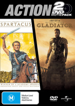 Gladiator / Spartacus on DVD