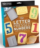 Fred - Letter Pressed Cookie Cutters (Numbers)