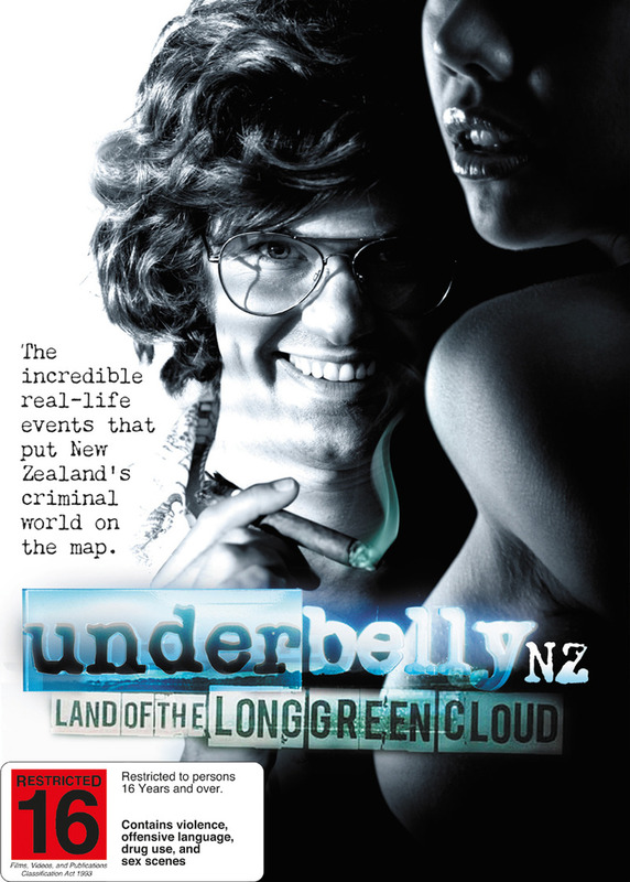 Underbelly NZ: Land of the Long Green Cloud DVD