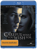 Careful What You Wish For on Blu-ray