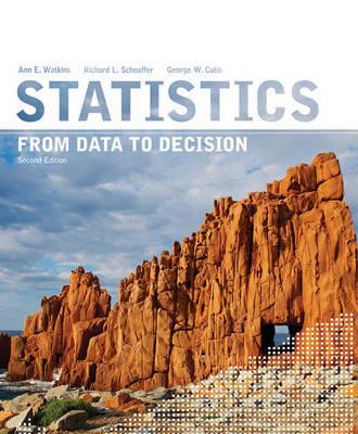 Statistics by Ann E Watkins