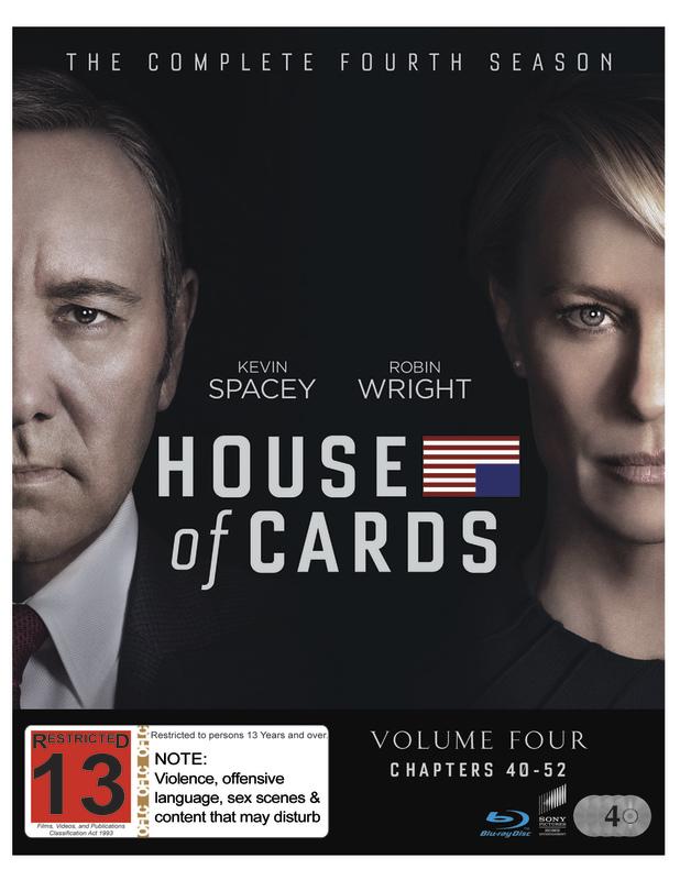 House Of Cards - Season 4 on Blu-ray