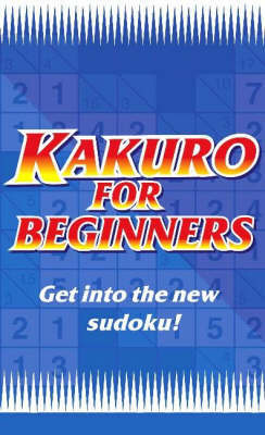 Kakuro for Beginners Blue by Puzzle Media Ltd. image
