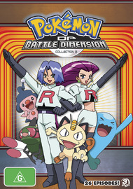 Pokemon Diamond & Pearl Battle Dimension - Collection 2 on DVD