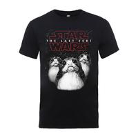 Star Wars - The Last Jedi: Porg T-Shirt (Large)