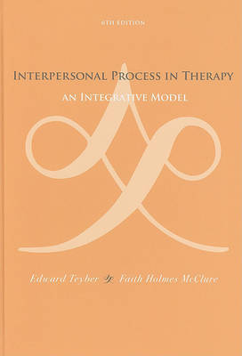 Interpersonal Process in Therapy by Edward Teyber image