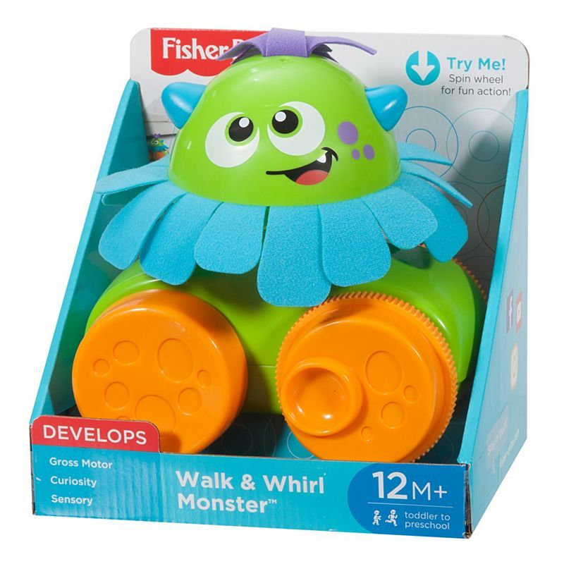 Fisher-Price: Walk & Whirl Monster image