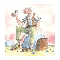 Museums & Galleries: Greeting Card - The BFG
