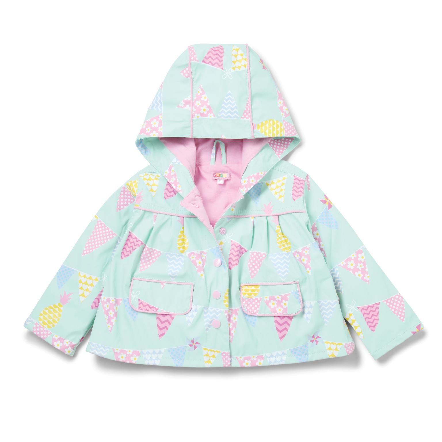 Raincoat Pineapple Bunting - Size 5-6 image