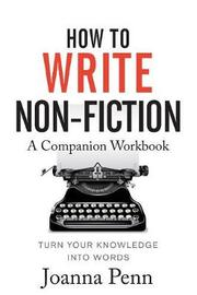 How to Write Non-Fiction Companion Workbook by Joanna Penn image