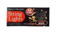 Christmas Lights - Warm White (20-Bulbs)