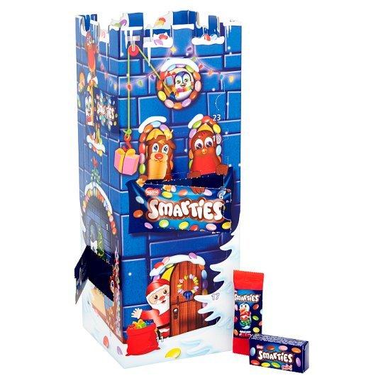 Smarties 3d Advent Calendar Snow Castle 227g At Mighty Ape Nz