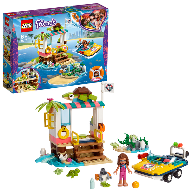 LEGO Friends: Turtles Rescue Mission - (41376)