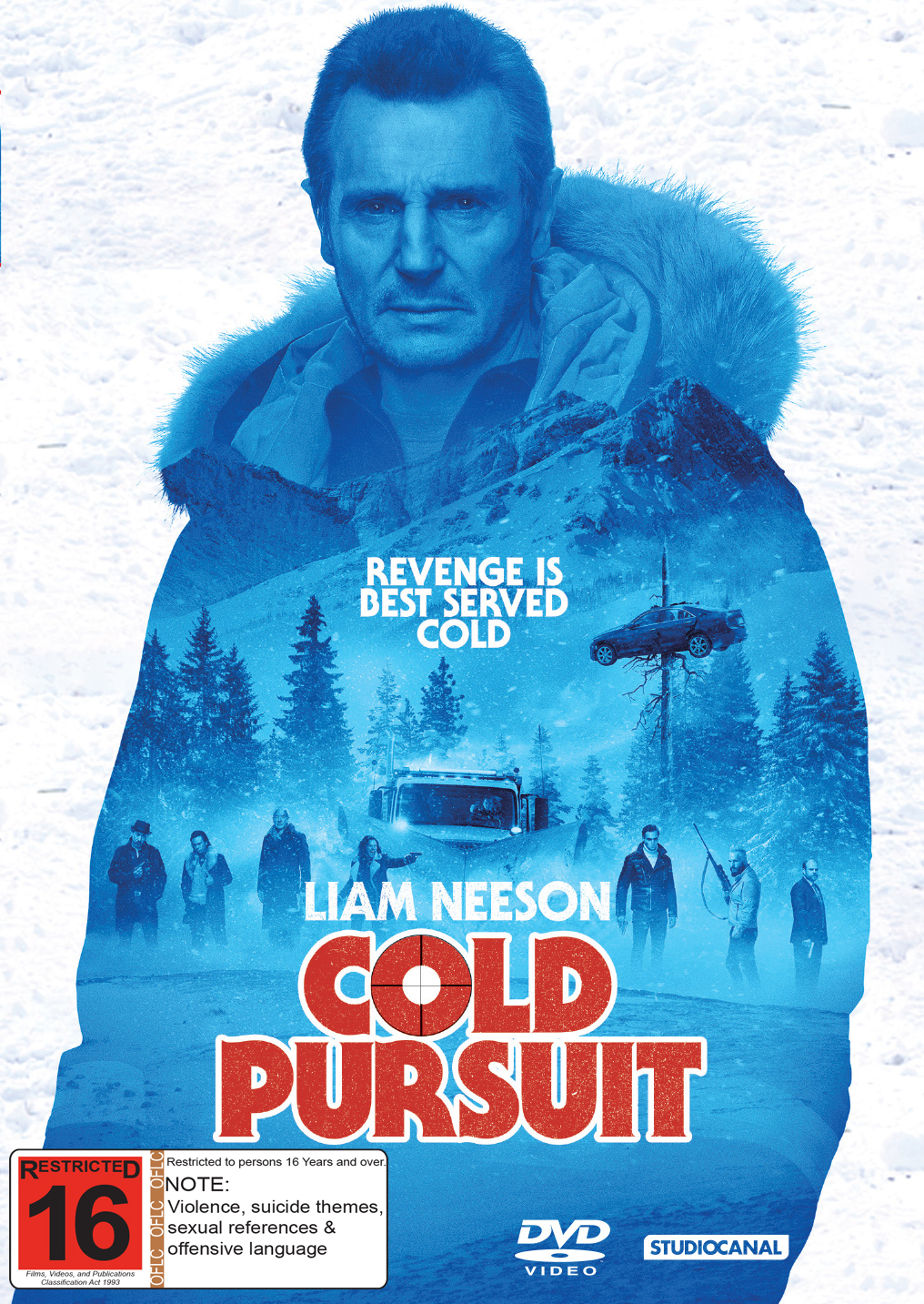 Cold Pursuit on DVD image
