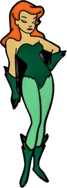 Batman: The Animated Series - Poison Ivy Enamel Pin