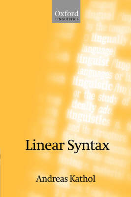 Linear Syntax by Andreas Kathol image