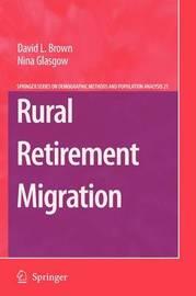 Rural Retirement Migration by David L Brown