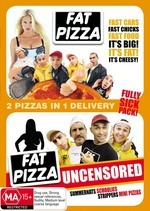 Fully Sick Pack Fat Pizza 1 and 2 on DVD