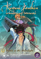 Rurouni Kenshin - V2 - Battle In The Moonlight on DVD