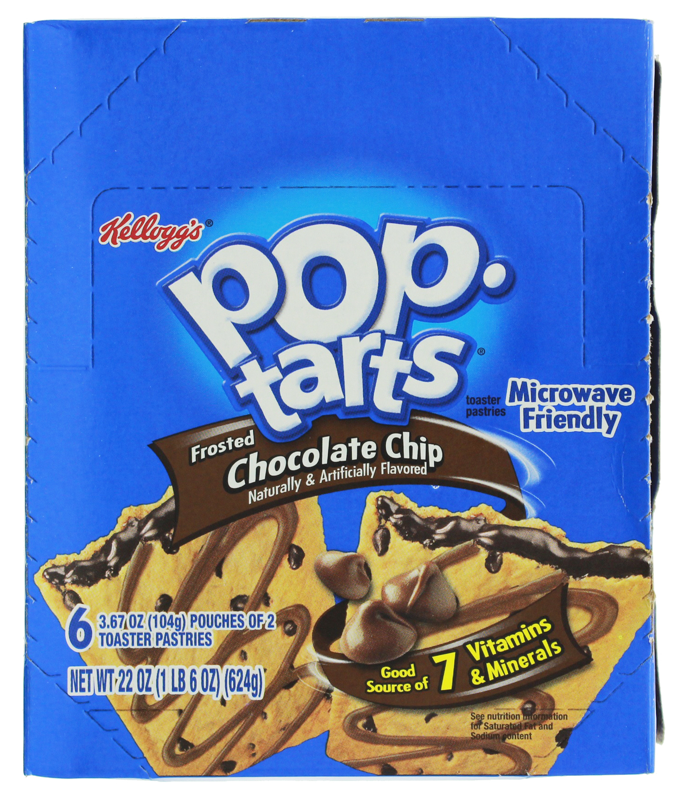 Kellogg's Pop Tarts - Chocolate Chip (12 Pack) image