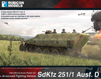 Rubicon 1/56 SdKfz 251/1 Ausf D