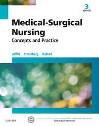 Medical-Surgical Nursing by Susan C Dewit