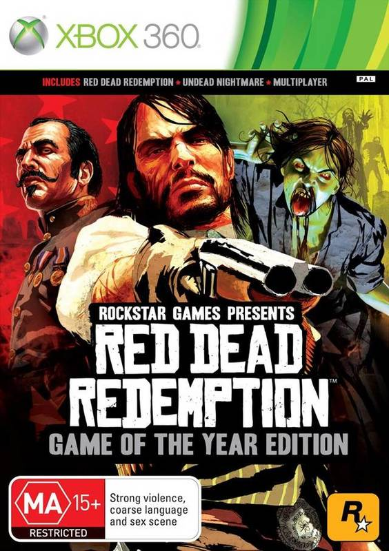 Red Dead Redemption Game of the Year Edition (Classics) for Xbox 360