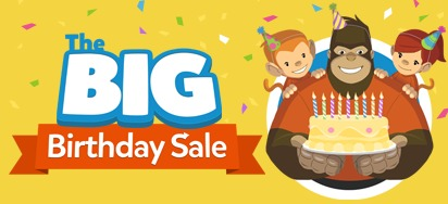 Big Birthday Sale