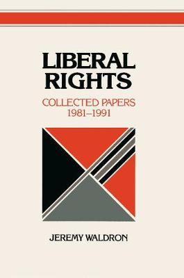 Liberal Rights by Jeremy Waldron image
