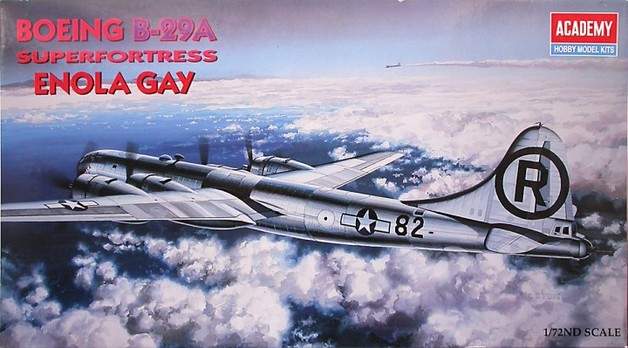 "Academy 1/72 B-29A ""Enola Gay"" Scale Model Kit"