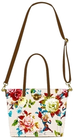 Loungefly: Captain Marvel - Floral Tote Bag