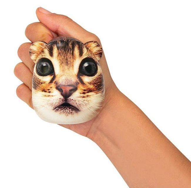 Kikkerland: Feline Time - CatStress Ball (Assorted Designs) image