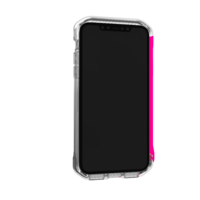 Element: Case Rail iPhone 11 Pro - Clear/Flamingo Pink