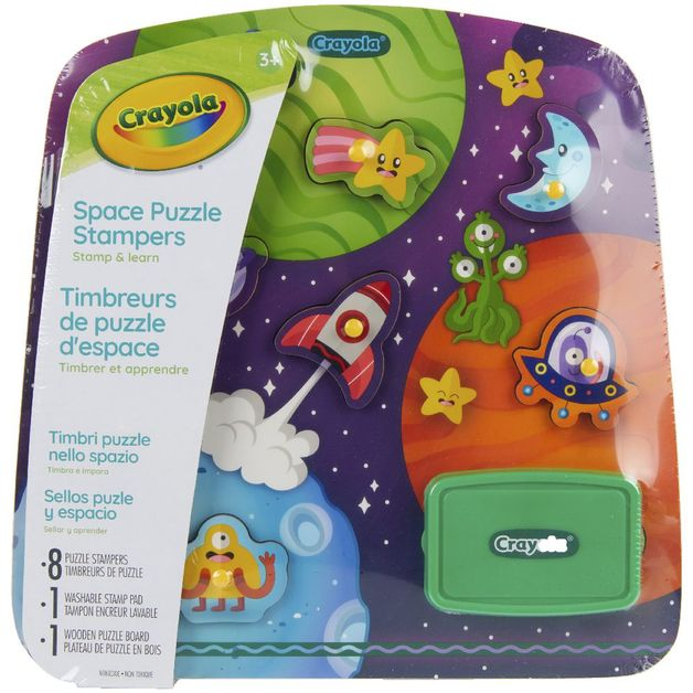 Crayola: Space Puzzle Stampers