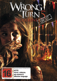 Wrong Turn 5 DVD