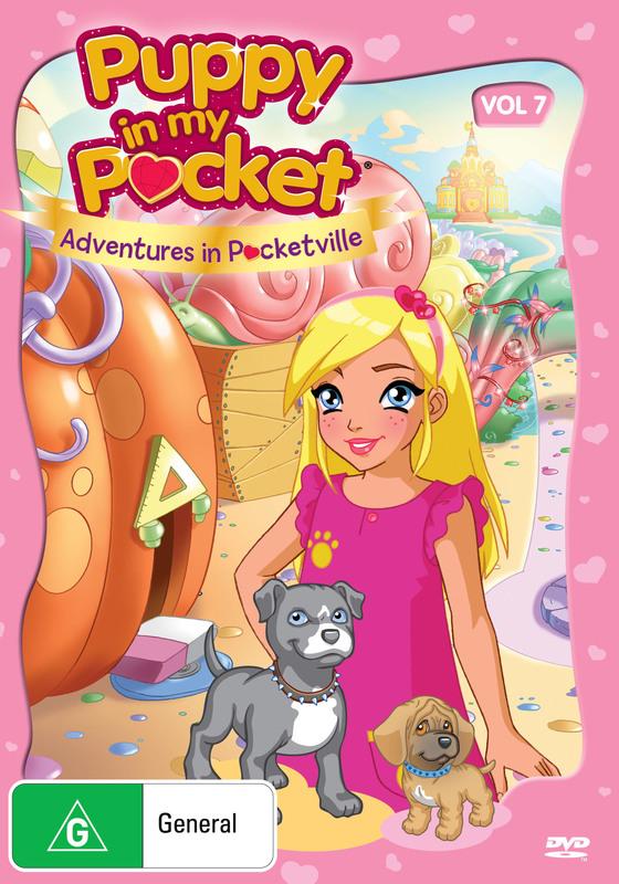 Puppy in My Pocket: Volume 7 on DVD
