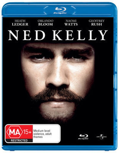Ned Kelly on Blu-ray