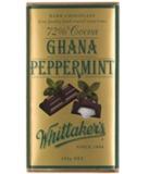 Whittaker's 72% Dark Ghana Peppermint Block - 250g