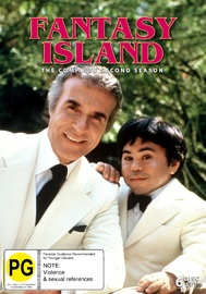 Fantasy Island (Season Two) on DVD