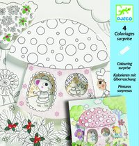 Djeco: Colouring Surprises - Thumbalina