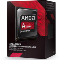 AMD A8-7650K Black Edition Quad Core 3.3- 3.7GHz FM2 Processor